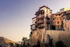 Casas de suspensão de Cuenca imagens de stock royalty free