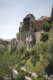 Casas de suspensão, Cuenca, Spain Imagens de Stock