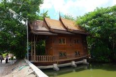 Casas de Tailandia en templo Fotos de archivo libres de regalías