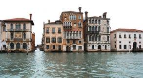 Casas de Veneza fotografia de stock