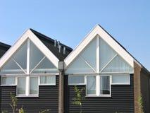 Casas de verão do projeto moderno Imagem de Stock Royalty Free