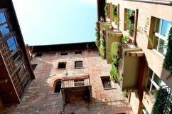 Casas de Verona Fotos de archivo libres de regalías