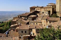 Casas de Volterra Fotografía de archivo libre de regalías