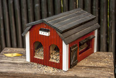 Casas decorativas do pássaro Foto de Stock Royalty Free