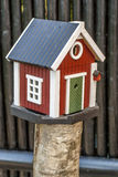 Casas decorativas do pássaro Imagem de Stock Royalty Free