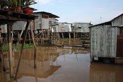 Casas del agua Fotografía de archivo libre de regalías
