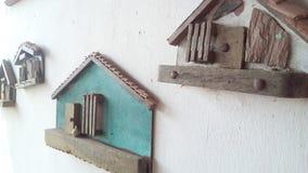 Casas del ataque frontal imagen de archivo libre de regalías