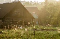 Casas del campo imagen de archivo libre de regalías