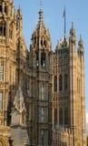Casas del detalle del parlamento Imagen de archivo libre de regalías