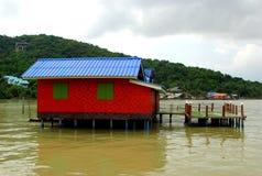 Casas del mar Fotos de archivo