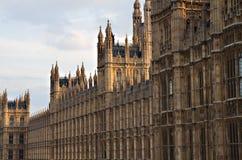 Casas del parlamento Fotos de archivo