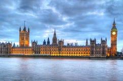 Casas del parlamento Imagenes de archivo