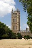 Casas del parlamento, London.U.K Imágenes de archivo libres de regalías