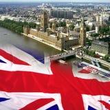 Casas del parlamento - Londres Fotografía de archivo libre de regalías