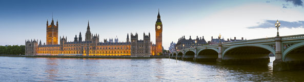 Casas del parlamento, Londres Imagen de archivo libre de regalías