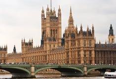 Casas del parlamento. Londres, Inglaterra Imagen de archivo