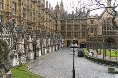 Casas del parlamento Londres Westminster Fotografía de archivo libre de regalías