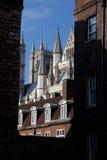 Casas del parlamento y de la abadía de Westminister Imagen de archivo