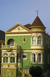 Casas del Victorian imágenes de archivo libres de regalías