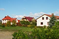 Casas destacadas Fotografia de Stock Royalty Free