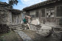 Casas dilapidadas Fotos de archivo