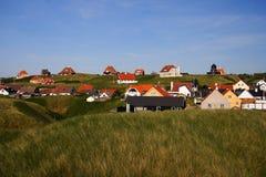 Casas/Dinamarca Foto de archivo libre de regalías