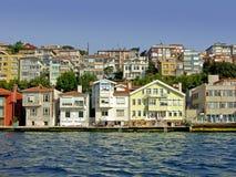 Casas do beira-mar imagens de stock royalty free
