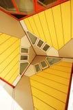Casas do cubo de Rotterdam - Holanda Foto de Stock Royalty Free