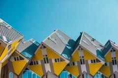 Casas do cubo, Rotterdam fotografia de stock royalty free