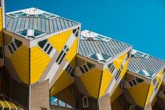Casas do cubo, Rotterdam imagem de stock royalty free