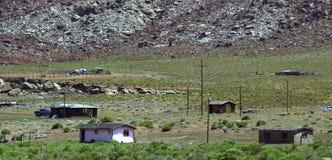 Casas do deserto Imagens de Stock