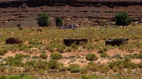 Casas do deserto Foto de Stock