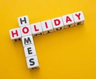 Casas do feriado Imagens de Stock Royalty Free