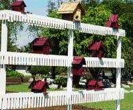 Casas do pássaro Fotos de Stock Royalty Free