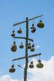 Casas do pássaro do Gourd Imagens de Stock Royalty Free