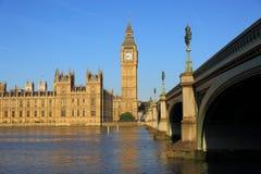 Casas do parlamento Fotografia de Stock