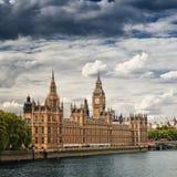 Casas do parlamento, Londres Imagem de Stock Royalty Free