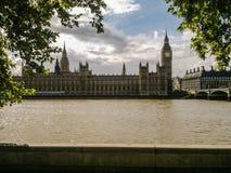 Casas do parlamento, Londres Imagens de Stock Royalty Free
