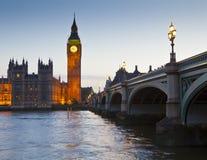 Casas do parlamento, Westminster, Londres Imagem de Stock