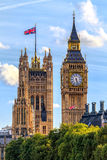 Casas do parlamento, Westminster, Londres Foto de Stock Royalty Free