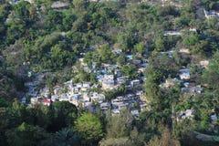 Casas do Port-au-Prince Imagem de Stock