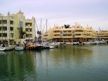 Casas do porto de Puerto Imagem de Stock