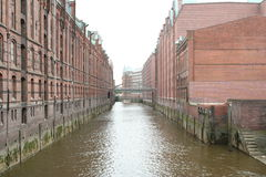 Casas do reservado em Hamburgo (2) Fotografia de Stock