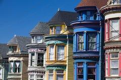Casas do Victorian Foto de Stock Royalty Free