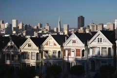 Casas do Victorian. Fotografia de Stock