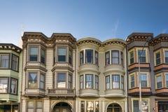Casas do Victorian de San Francisco Fotografia de Stock Royalty Free