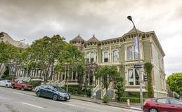 Casas do Victorian em San Francisco Imagens de Stock Royalty Free