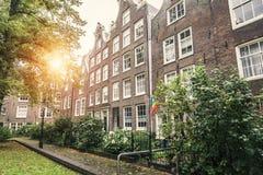 Casas em Amsterdão Imagem de Stock