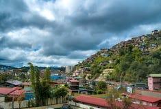 Casas em Baguio imagem de stock royalty free