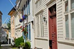 Casas em Bergen Imagens de Stock